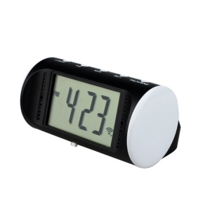 Mini Talking Clock Digital Video Recorder with Remote Control, Motion-Activated 8GB memory include